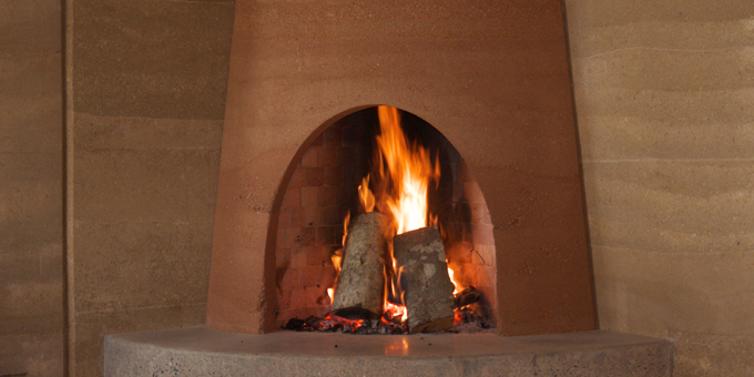 Kiva Rumford Fireplace Earthdwell